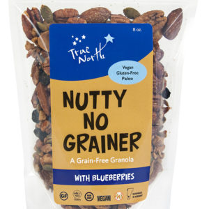 Nutty No Grainer with Blueberries