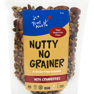 Nutty No Grainer with Cranberries