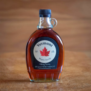 100% Pure Vermont Maple Syrup – Glass Bottle