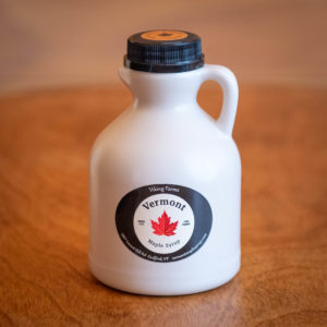 100% Pure Vermont Maple Syrup – Jug