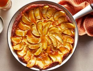Maple Clafoutis with Apples