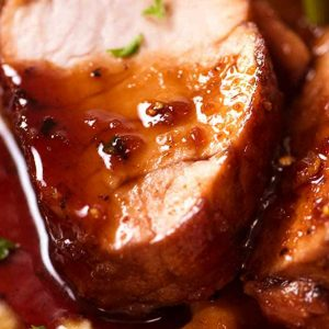 Maple-Glazed Pork Medallions