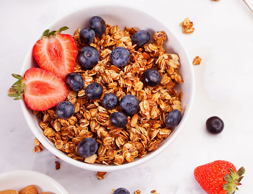 Double Fruit Maple Granola