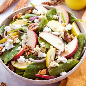 Green Salad With Maple-Cider Vinaigrette