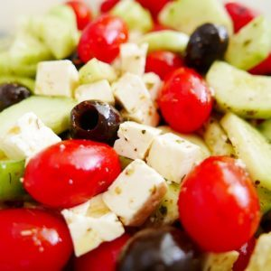 Greek Salad from Vermont